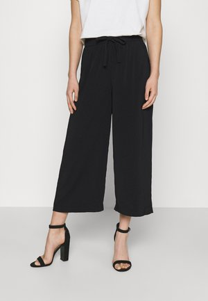 ONLCILLE STRING CULOTTE - Trousers - black