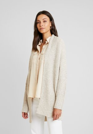 STRUCTURE CARD - Cardigan - cream beige