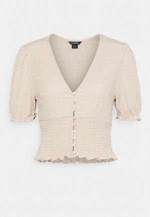ZANJA - Camiseta estampada - beige