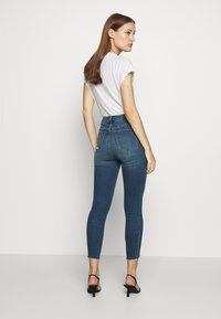Abercrombie & Fitch - Jeans Skinny Fit - dark destroy - 2