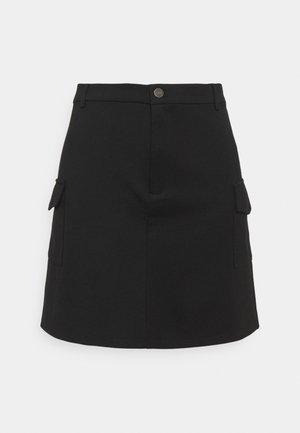NMHIPE PALMA SKIRT  - Mini skirts  - black