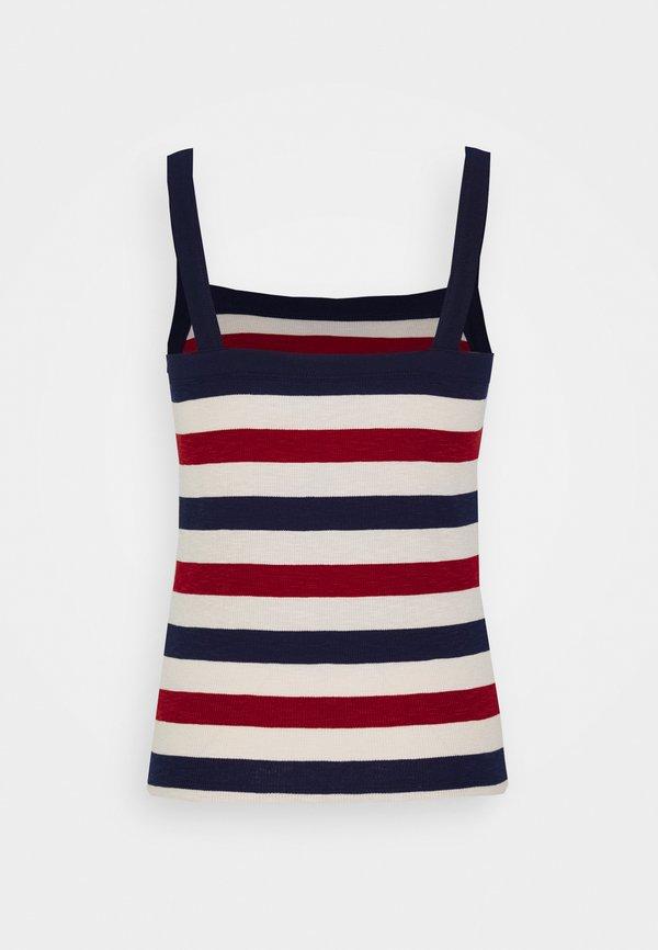 GAP TANK - Top - red stripe combo W paski Odzież Damska HNWC RH 7