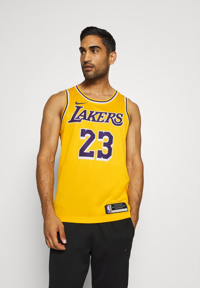 NBA LA LAKERS LEBRON JAMES SWINGMAN - Article de supporter - amarillo/field purple