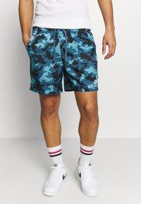 Nike Sportswear - FLOW  - Shorts - cerulean/thunderstorm/white - 0