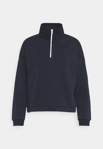 ZIP JUMPER - Sweater - navy