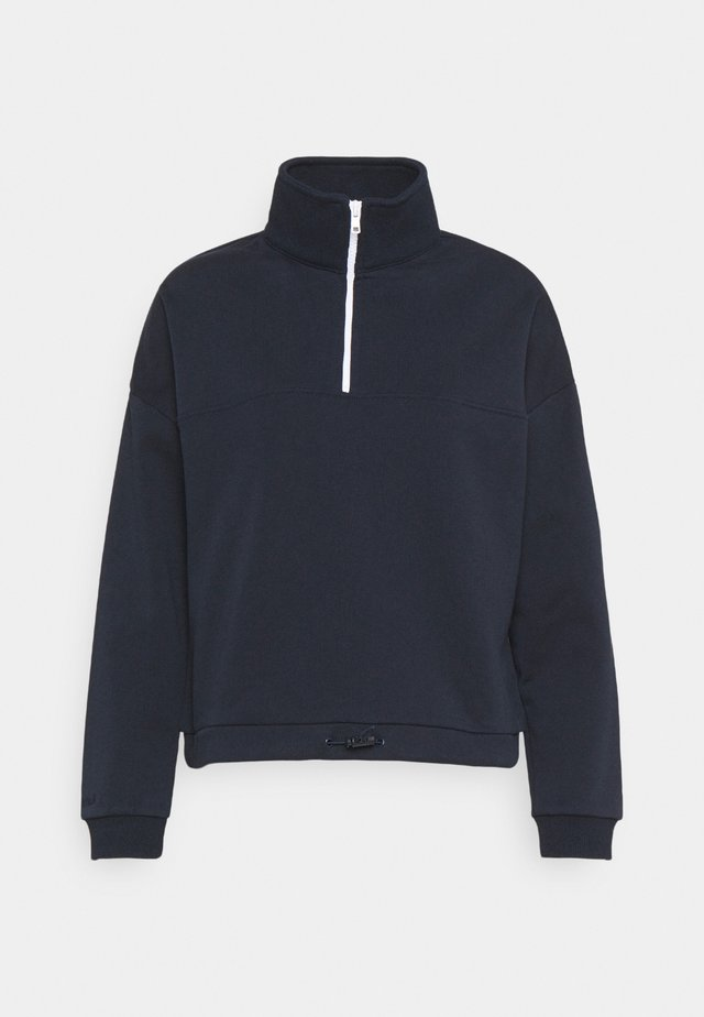 ZIP JUMPER - Sweatshirt - navy