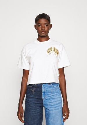 ICE DREAM VINTAGE - Print T-shirt - bianco scuro