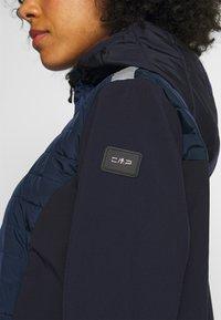 CMP - WOMAN JACKET FIX HOOD - Outdoorjakke - dark blue - 6