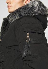 Glorious Gangsta - NAVIER - Zimní bunda - black - 6