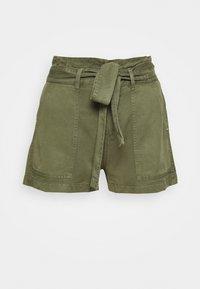 Guess - JANNA - Shorts - army sage - 4