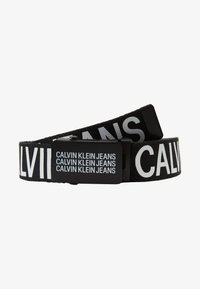 Calvin Klein Jeans - BOYS BASIC BELT - Pásek - black - 1