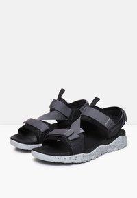 Timberland - RIPCORD - Walking sandals - black - 2
