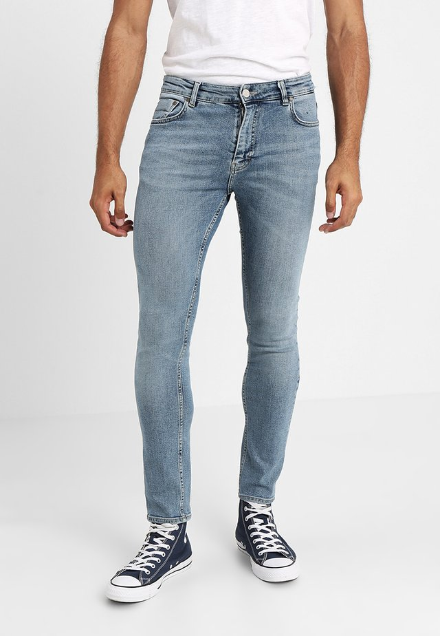 SICKO - Jeansy Skinny Fit - tray blue