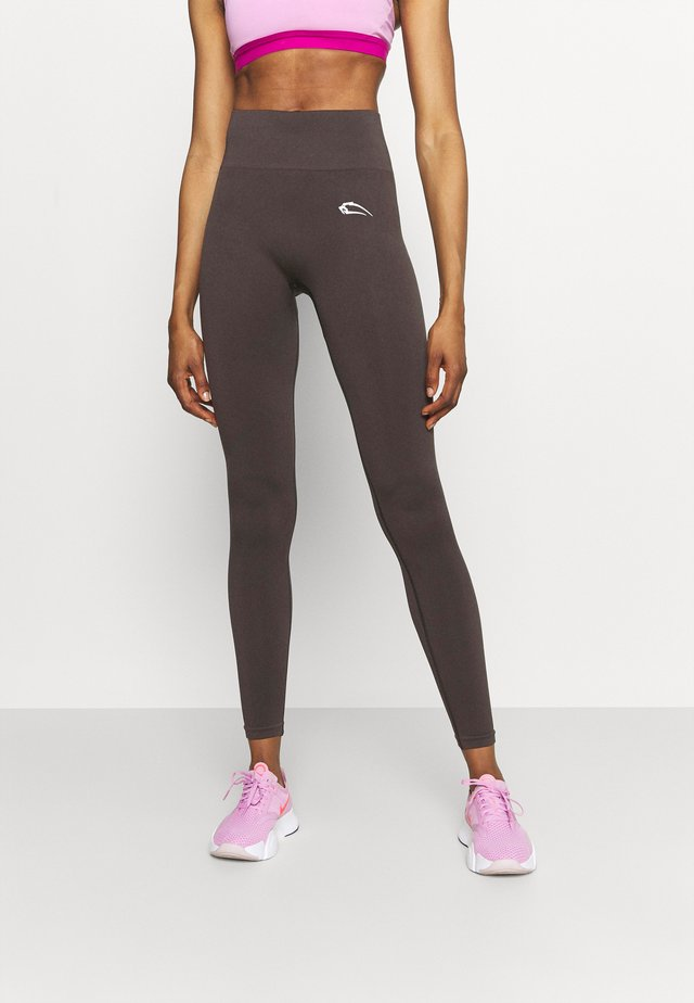 SEAMLESS LEGGINGS COOL - Leggings - grau