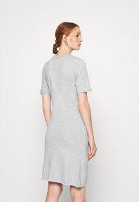 Ética - VERONICA - Jersey dress - heather grey - 2