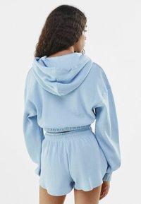 Bershka - Hoodie - light blue - 2