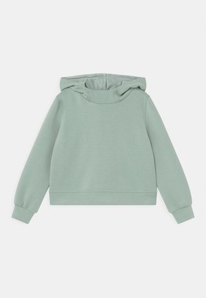 ONPDESS CROPPED HOOD UNISEX - Long sleeved top - gray mist
