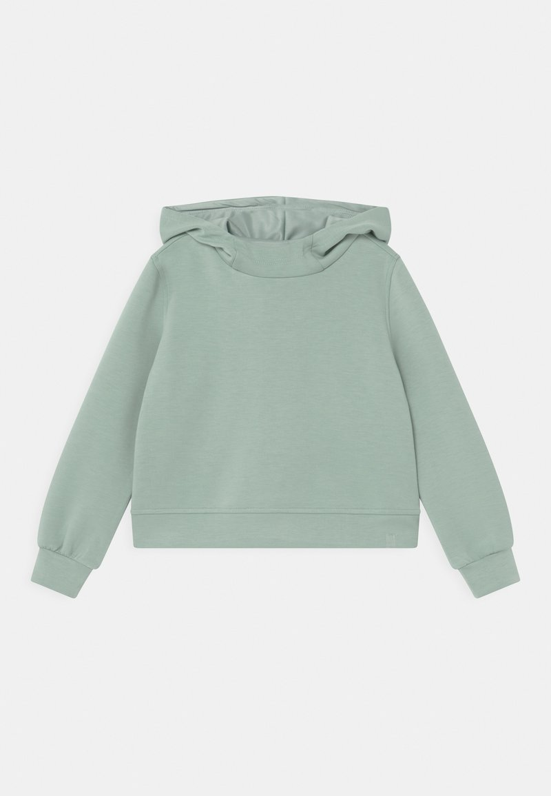 ONLY Play - ONPDESS CROPPED HOOD GIRLS - Long sleeved top - gray mist