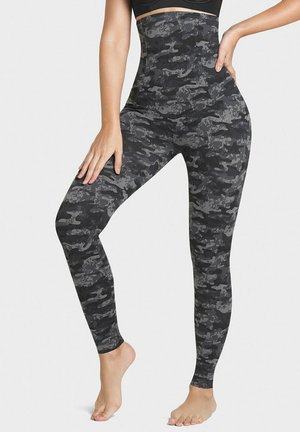 EXTRA HIGH WAISTED FIRM COMPRESSION ACTIVELIF - Leggings - gray