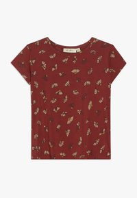 Soft Gallery - PILOU - Camiseta estampada - burnt brick - 0