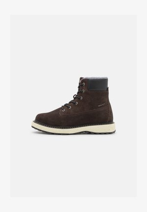 RAYMO - Lace-up ankle boots - espresso/black