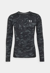 Under Armour - CAMO COMP - Long sleeved top - black - 0