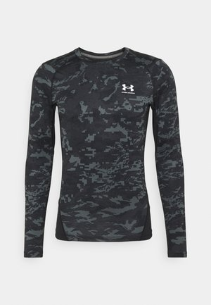 CAMO COMP - Long sleeved top - black