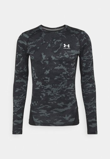 CAMO COMP - Langærmede T-shirts - black