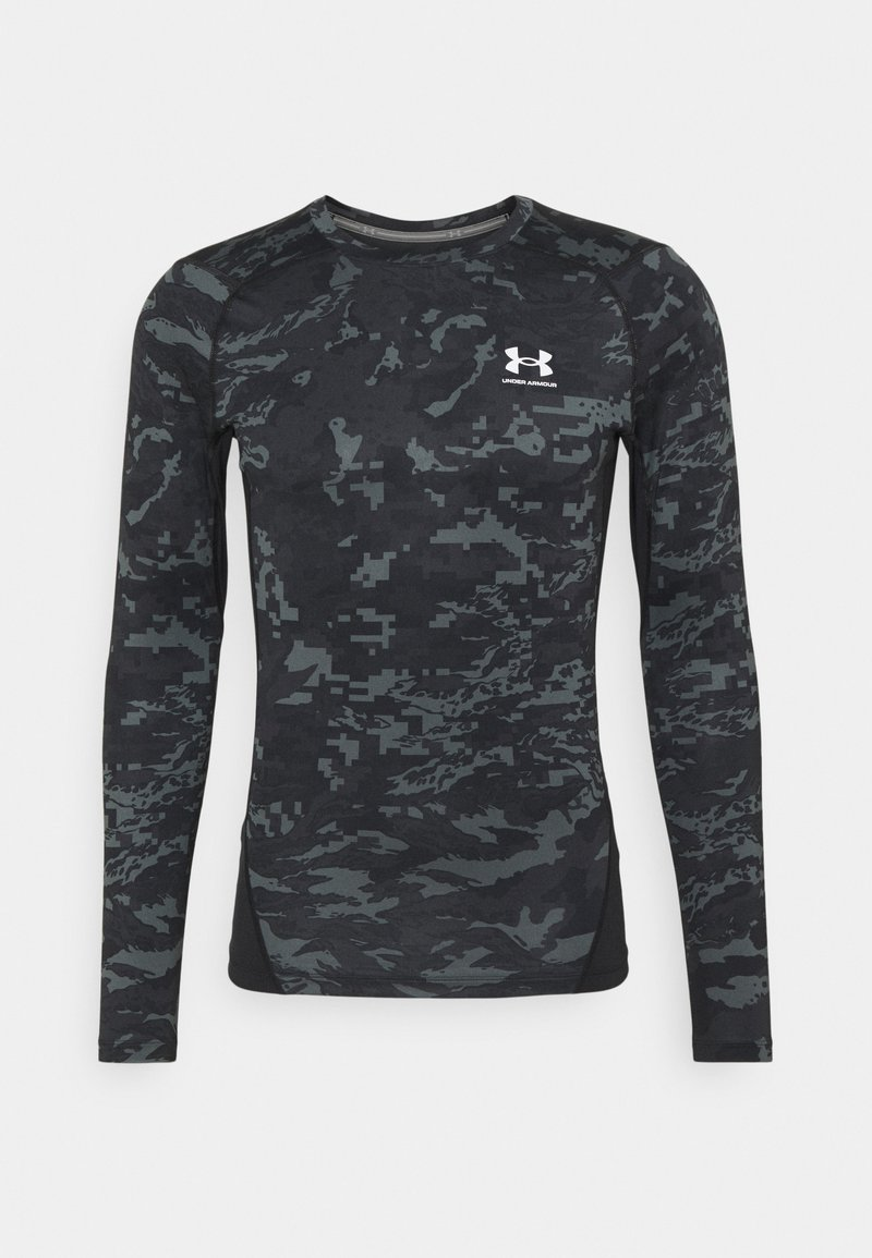 Under Armour - CAMO COMP - Long sleeved top - black