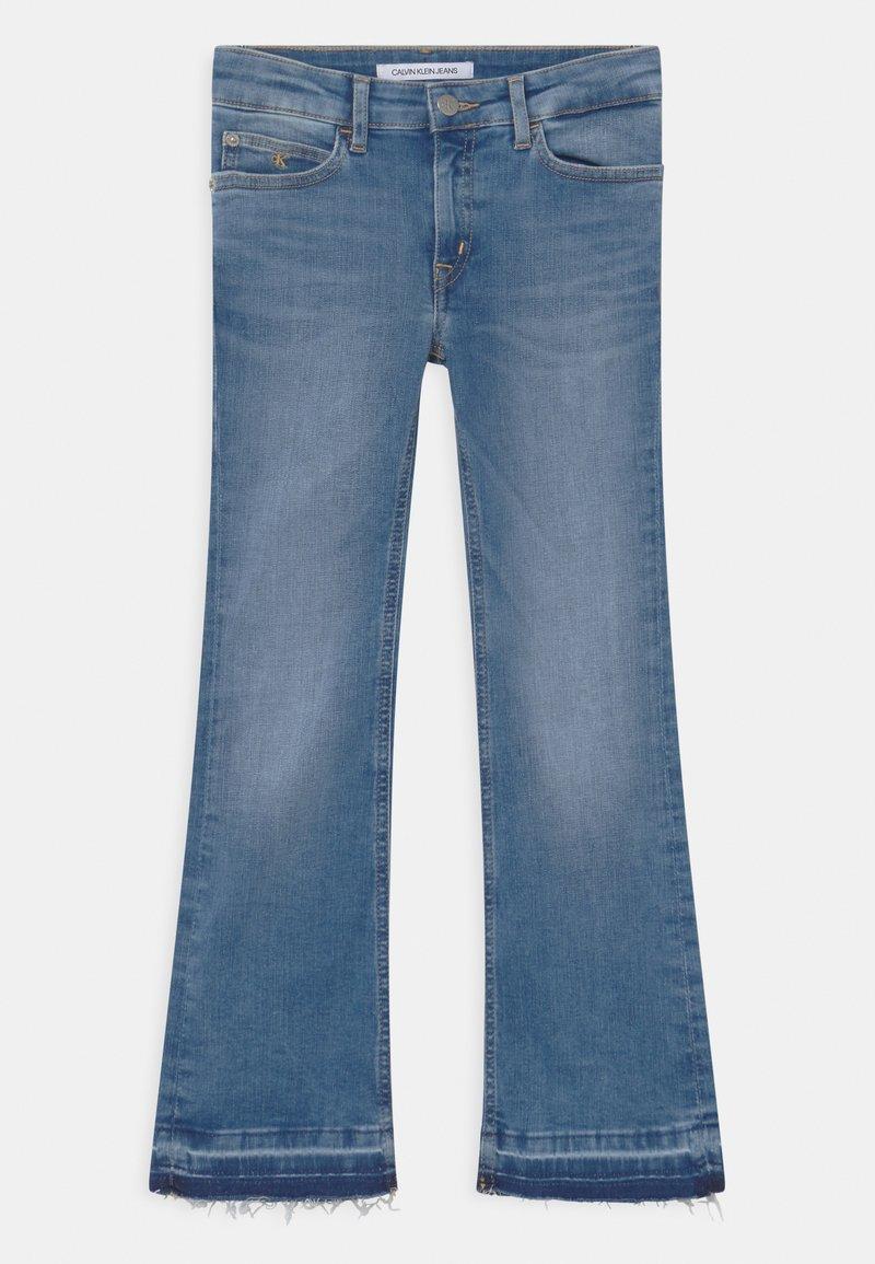 Calvin Klein Jeans - FLARE INFINITE  - Bootcut jeans - denim