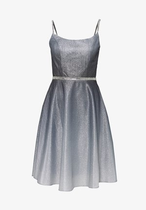 Cocktail dress / Party dress - schwarz/silber