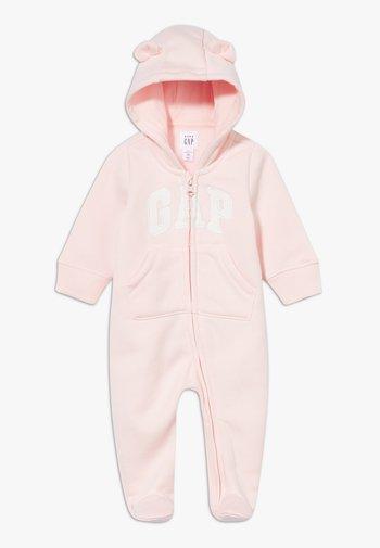 LOGO - Jumpsuit - pink cameo