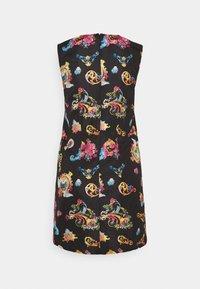 Versace Jeans Couture - LADY DRESS - Sukienka letnia - black - 7