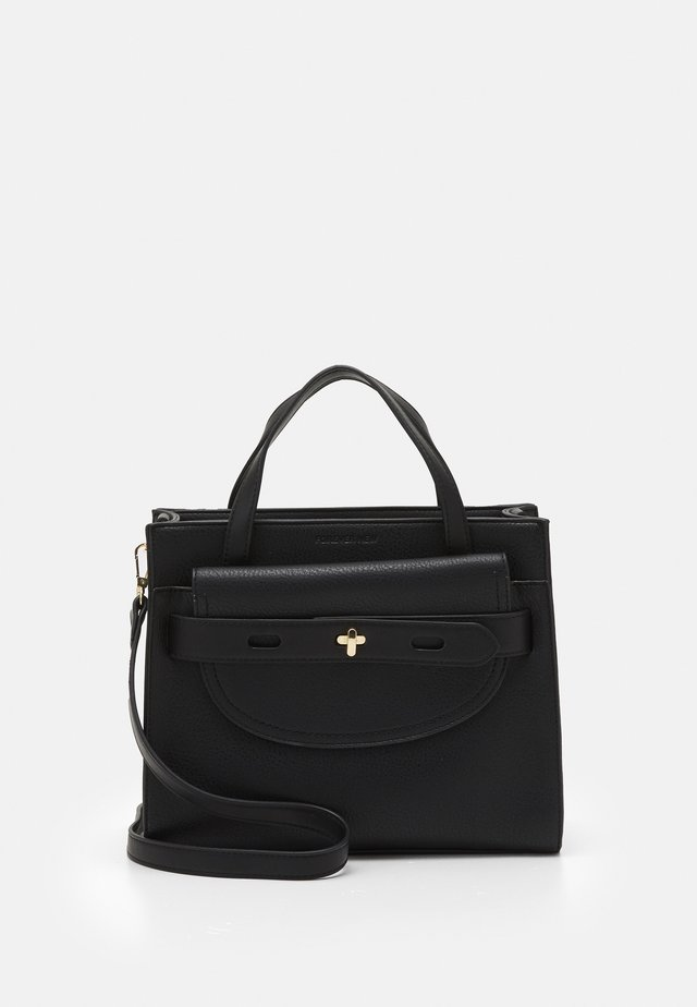 BECKY STRUCTURED BAG - Shopping bag - black