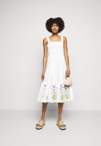 Tory Burch - SMOCKED DRESS - Day dress - new ivory - 1