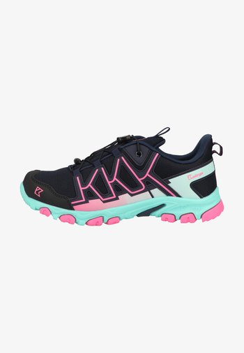 Hiking shoes - navy/rose
