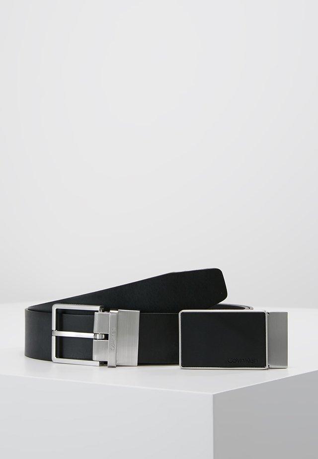 CASUAL GIFT SET - Belt business - black