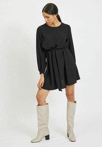 Vila - VISURASHA  - Day dress - black - 1
