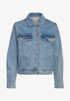 SLFSTORY BAIR JACKET - Jeansjacke - light blue denim