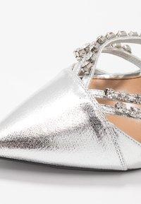 River Island - Zapatos altos - silver - 2