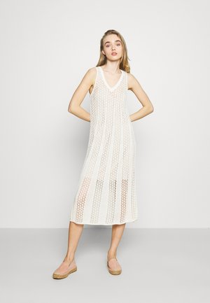 LARA - Jumper dress - off white