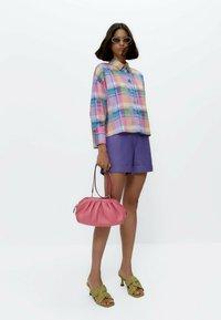 Uterqüe - Button-down blouse - pink - 1