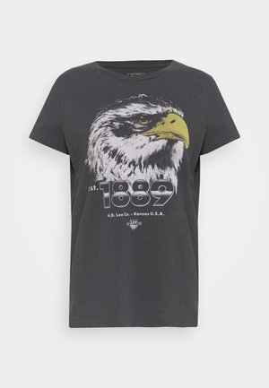 SUMMER TEE - T-shirts med print - washed black