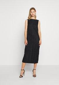 Weekday - IZAR DRESS - Vestito elegante - black - 0
