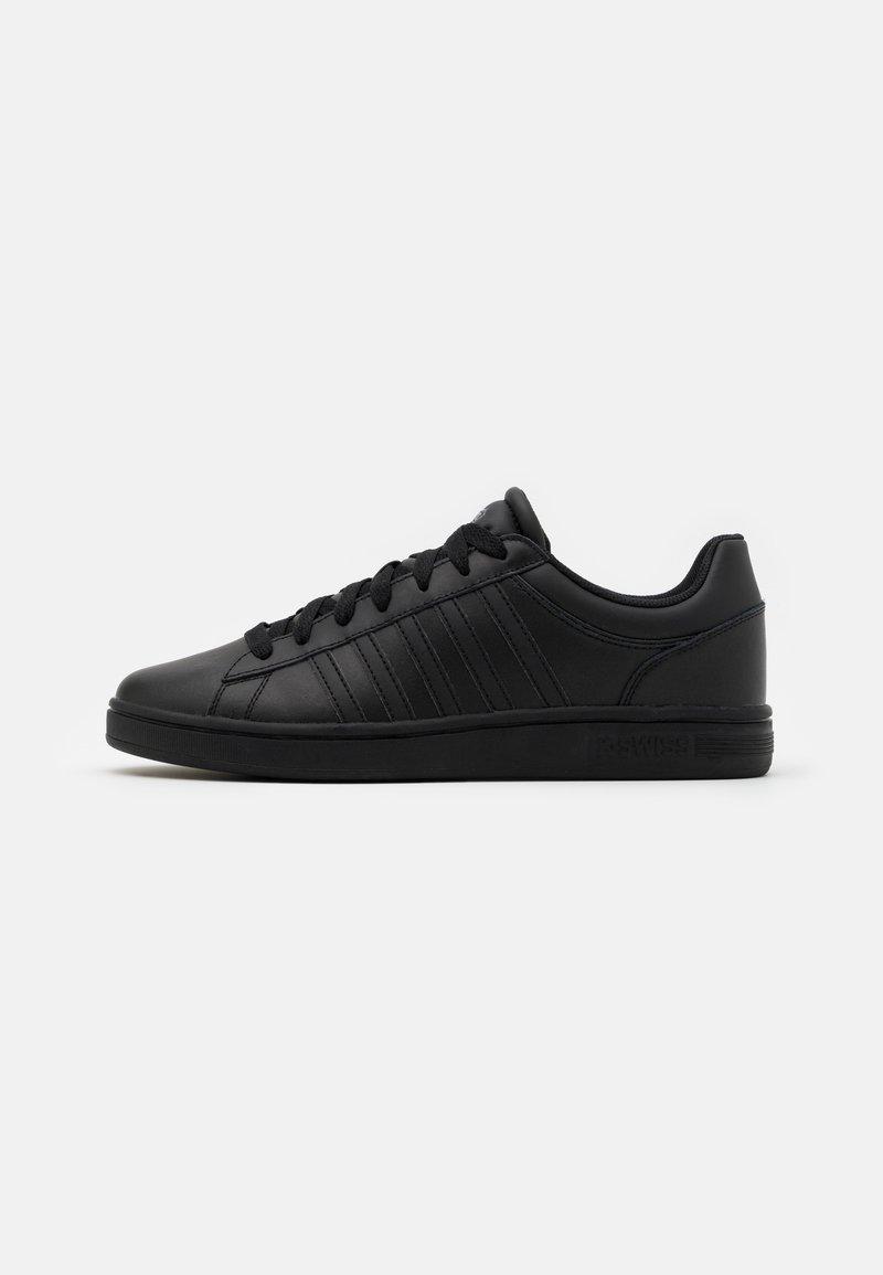 K-SWISS - COURT WINSTON - Sneakers laag - black