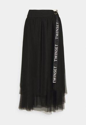 Maxi sukně - nero