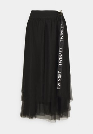 Długa spódnica - nero