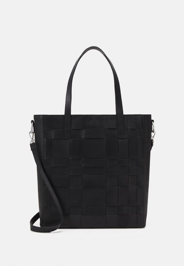 KELLIE SHOPPER WORKBAG - Tietokonelaukku - black