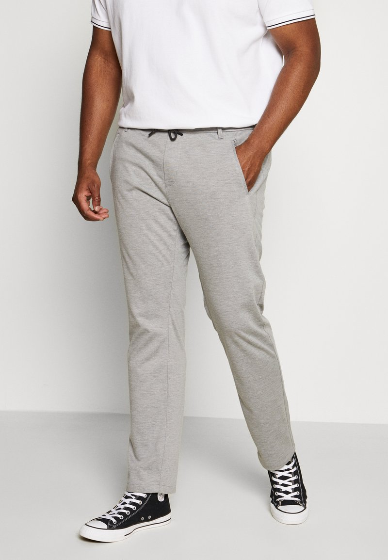 s.Oliver - Tracksuit bottoms - asche