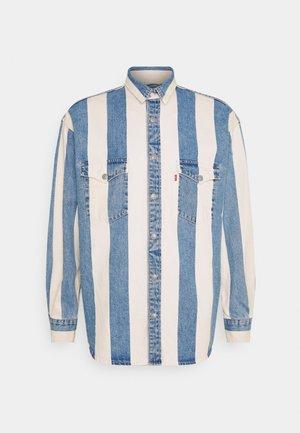 BARSTOW WESTERN UNISEX - Koszula - blue denim/white